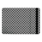 Black and white Triangles pattern, geometric Samsung Galaxy Tab Pro 10.1  Flip Case