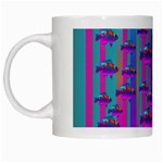 Tropical Rainbow Fishes  In Meadows Of Seagrass White Mugs
