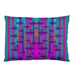 Tropical Rainbow Fishes  In Meadows Of Seagrass Pillow Case