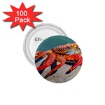 Colored Crab, Galapagos Island, Ecuador 1.75  Buttons (100 pack)