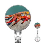 Colored Crab, Galapagos Island, Ecuador Stainless Steel Nurses Watch