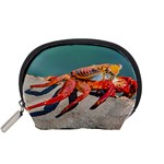 Colored Crab, Galapagos Island, Ecuador Accessory Pouch (Small)