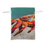Colored Crab, Galapagos Island, Ecuador Lightweight Drawstring Pouch (S)
