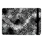 Tropical leafs pattern, black and white jungle theme Samsung Galaxy Tab Pro 10.1  Flip Case