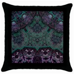 Mandala Corset Throw Pillow Case (Black)