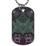 Mandala Corset Dog Tag (Two Sides)