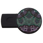 Mandala Corset USB Flash Drive Round (4 GB)
