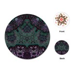 Mandala Corset Playing Cards Single Design (Round)