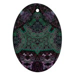 Mandala Corset Oval Ornament (Two Sides)