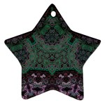 Mandala Corset Star Ornament (Two Sides)
