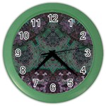Mandala Corset Color Wall Clock