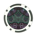 Mandala Corset Poker Chip Card Guard
