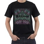 Mandala Corset Men s T-Shirt (Black)