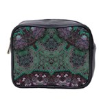 Mandala Corset Mini Toiletries Bag (Two Sides)