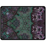 Mandala Corset Fleece Blanket (Large)