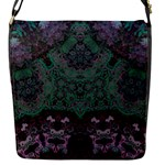 Mandala Corset Flap Closure Messenger Bag (S)