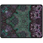 Mandala Corset Double Sided Fleece Blanket (Medium)