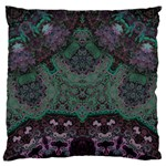 Mandala Corset Large Flano Cushion Case (One Side)