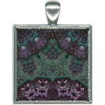Mandala Corset Square Necklace