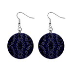 Mandala Cage Mini Button Earrings