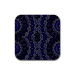 Mandala Cage Rubber Square Coaster (4 pack)