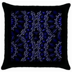 Mandala Cage Throw Pillow Case (Black)