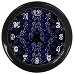 Mandala Cage Wall Clock (Black)