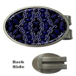 Mandala Cage Money Clips (Oval)