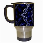 Mandala Cage Travel Mugs (White)