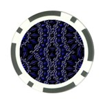 Mandala Cage Poker Chip Card Guard