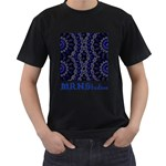 Mandala Cage Men s T-Shirt (Black)