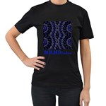 Mandala Cage Women s T-Shirt (Black)