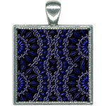 Mandala Cage Square Necklace