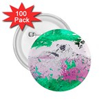 Crackling Green 2.25  Buttons (100 pack)