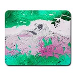 Crackling Green Large Mousepads