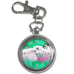 Crackling Green Key Chain Watches
