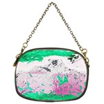 Crackling Green Chain Purse (Two Sides)