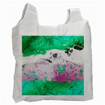 Crackling Green Recycle Bag (Two Side)