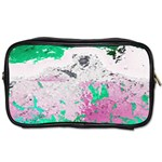 Crackling Green Toiletries Bag (One Side)