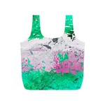 Crackling Green Full Print Recycle Bag (S)
