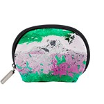 Crackling Green Accessory Pouch (Small)