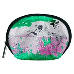 Crackling Green Accessory Pouch (Medium)