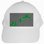 Houndstooth Leaf White Cap