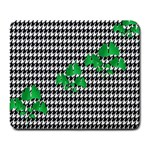 Houndstooth Leaf Large Mousepads