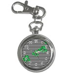 Houndstooth Leaf Key Chain Watches