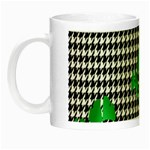 Houndstooth Leaf Night Luminous Mugs
