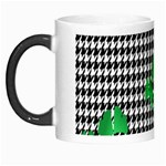 Houndstooth Leaf Morph Mugs