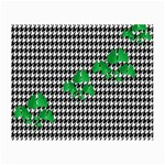 Houndstooth Leaf Small Glasses Cloth (2 Sides)