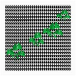 Houndstooth Leaf Medium Glasses Cloth (2 Sides)