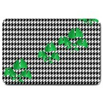 Houndstooth Leaf Large Doormat